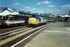 37896 Newport (Andy47484) Tags: railroad 3 english electric wales train transport traction rail railway loco trains class newport type locomotive 37 railways intercity 43 125 hst transrail 37896