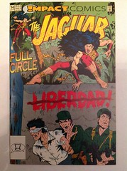 Jaguar #14 - Impact Comics (sheriffdan10) Tags: woman comics impact heroine superhero comicbooks jaguar mpact thejaguar
