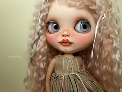 Lis :333 (MimeDollz) Tags: art doll ooak carving bjd blythe