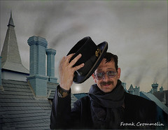 Chimney Sweep (FrankCrommelin) Tags: chimney rooftop sweep chimneysweep crommelin frankcrommelin chimchimrny