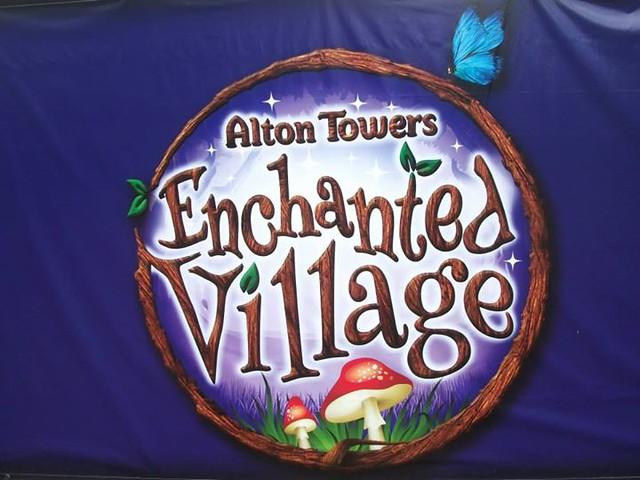 10/08/14 - The Enchanted Village logo.