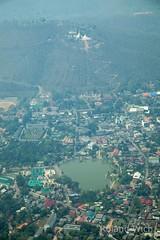 Mae Hong Son (Rolandito.) Tags: plane thailand asia south son aerial east hong mae southeast overview luftbild luftaufnahme luftaudnahme overviee