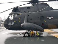 CIMG8060 (hapersmion) Tags: rain museum sam charlotte helicopter yorktown granddaddy homeschool bam 2014 beachtrip2014