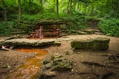 Glen Helen Nature preserve [explored] (sssbbc) Tags: nature rock creek woods hiking springs redwater redrock preserve yellowsprings glenhelen naturalsprings