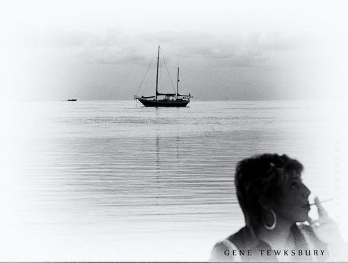 Sailboat & Cigarette