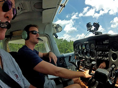 Dad & Jon number 2 for takeoff (V-rider) Tags: mountains airplane fly jon dad flight ralph cessna 170 bsa rhm boyscoutsofamerica campoldindian vrider97