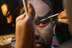 Justice Pao, a very rare character of chinese opera in Penang - Malaysia (Bertrand Linet) Tags: face facepainting makeup malaysia actor penang chineseopera wayang chineseculture chineseoperaactor chineseactor justicepao