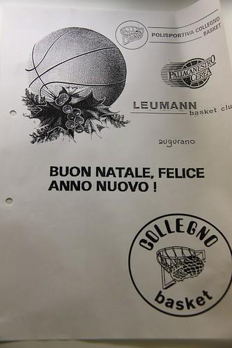 Buon Natale dal Collegno Basket