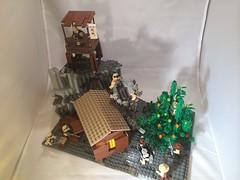 Overview (J. Lash) Tags: lego jungle ww2 mecha mech