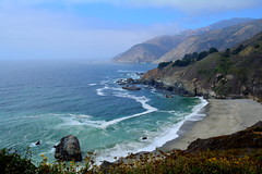 Pacific's Pristine Colors. Pacific Coast Highway, California.