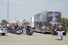 """Stephen Siller Tunnel to Towers Foundation mobile exhibit Memorial Escort • <a style=""""font-size:0.8em;"""" href=""""http://www.flickr.com/photos/55149102@N08/15080379217/"""" target=""""_blank"""">View on Flickr</a>"""