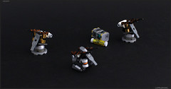 COMARCA TURRETS (Pierre E Fieschi) Tags: art mobile lego pierre micro concept megabloks turrets variation mega microspace fieschi bloks microspacetopia pierree shiptember