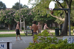 Basketball (Tobyotter) Tags: shirtless men basketball barefoot cnu 2014 newportnewsva christophernewportuniversity