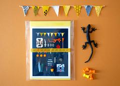 Halloween Greeting Card Set (hine) Tags: halloween print toy miniature card etsy greeting