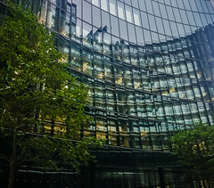 street city uk england urban money reflection building... (Photo: Мaistora on Flickr)