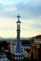 Park Guell - Barcelona, Espaa (jessica.petraszko) Tags: barcelona voyage travel espaa spain gaudi fujifilm espagne parkguell barcelone xm1