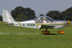 G-CCEM (QSY on-route) Tags: northampton rally orm laa sywell 2013 egbk gccem 31082013