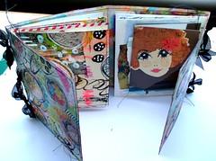 journal bound - book 1 - (ouvert) (fan de yan) Tags: mixedmedia journal