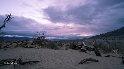 Moody Skies over Death Valley