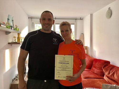 Bogi Pappa L2 Fitness Instructor Certificate