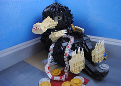 Niffler (The Deathly Halliwell) Tags: lego harry potter cute sculpture tubby niffler