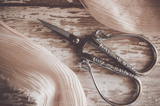 Threads come and go but scissors are forever. :)