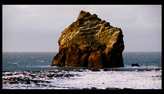 Silent (little_frank) Tags: ocean show winter light sea wild cliff brown white snow tower beach nature beautiful beauty rock vertical facade contrast standing wow spectacular wonder coast iceland amazing still ancient scenery solitude loneliness peace silent awesome horizon wide peaceful sunny landmark special adventure creation shore silence foam stunning end lone karl coastline lonely column geology wilderness scape exploration eternity monolith isle mythology breathtaking imposing reykjanes ending towering eternal seastack verticality waterscape outpost geological reykjanesviti oceanic endure imponence