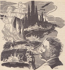 Startling Stories / Illustration 7 (micky the pixel) Tags: sf illustration drawing pipe sciencefiction pulp smoker zeichnung startlingstories paulorban miriamallendefordthechildren