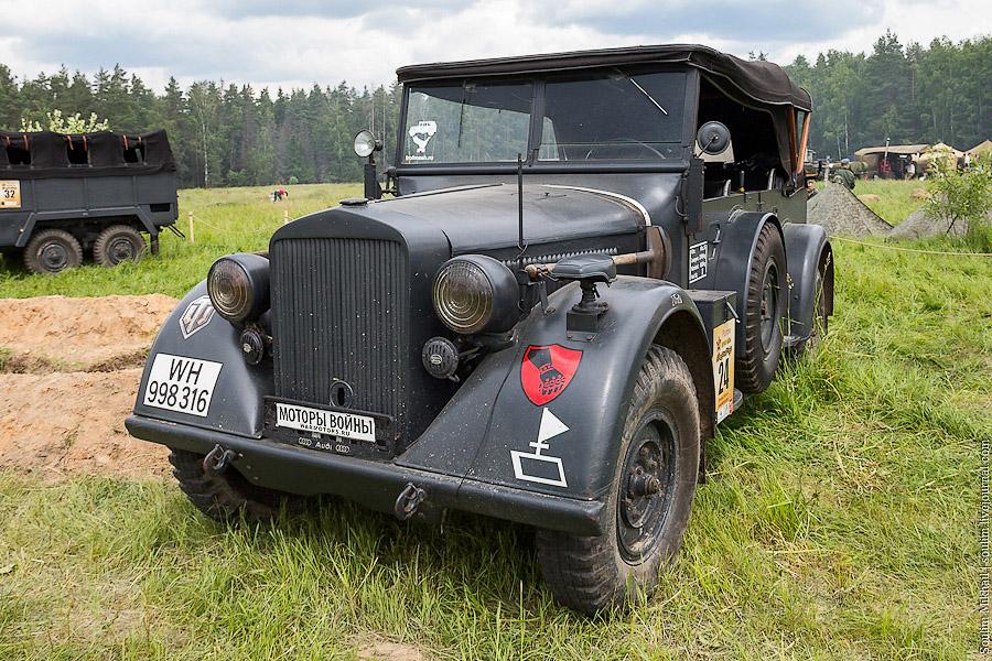 Машины немецких военных