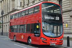 13022 - BG14ONT (DavidsBuses) Tags: stagecoachlondon 13022 volvob5lh wrighteclipsegemini3 bg14ont
