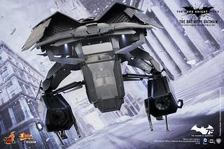 嶄新的1/12 系列登場!Hot Toys MMSC01 1/12 比例蝙蝠戰機組