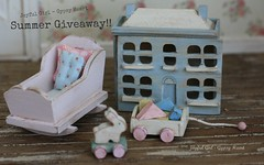 Summer Giveaway (*Joyful Girl  Gypsy Heart *) Tags: baby vintage toy one miniatures miniature blog inch country nursery blogger giveaway chic 112 dollhouse shabby joyfulgirlgypsyheart