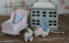 Summer Giveaway (*Joyful Girl ♥ Gypsy Heart *) Tags: baby vintage toy one miniatures miniature blog inch country nursery blogger giveaway chic 112 dollhouse shabby joyfulgirlgypsyheart