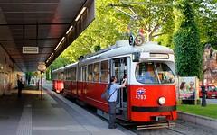 Wien (austrianpsycho) Tags: vienna wien station 5 tram tramway haltestelle bim tramstation 4783 wienerlinien strasenbahn bimstation strasenbahnhaltestelle strasenbahnstation