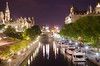 The Canal by Night (flashfix) Tags: city longexposure nightphotography bridge trees ontario canada nature water architecture night reflections boats lights canal nikon downtown cityscape streetlights ottawa parliament calm le 40mm chateaulaurier 2014 captial mackenziekingbridge yachtes d7000 nikond7000 2014inphotos june062014 standardottawaimage