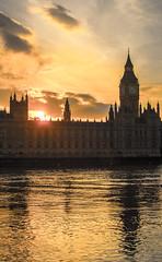 Parliament (Danny_Hodge) Tags: uk sunset reflection london big ben magic parliament hour