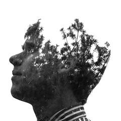 2014 Krizanek Photography (krizanekphotography) Tags: man face silhouette nikon doubleexposure multipleexposure incamera d80 nikond80 doubleexpsoure krizanekphotography