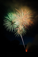 4th of July Fireworks - Richmond, Vermont (Nicholas Erwin) Tags: light usa night nikon vermont day fireworks 4th july richmond tokina independence fourth 1224f4 chittendencounty d7000