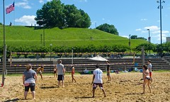 2014-07-04 BBV Hat Draw Tournament (41) (cmfgu) Tags: holiday net beach sports ball court md sand outdoor 4th july maryland baltimore tournament bikini volleyball coed athlete fourth independenceday league 4s innerharbor fours bbv rashfield hatdraw