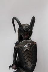 Withdoll Dark Knight Priscilla (Damasquerade) Tags: skin uv armor bjd resin armour darkknight priscilla rosybrown fullset withdoll