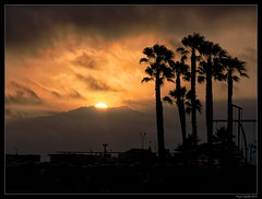 California Sunset 2 (lyncaudle) Tags: california sunset beach landscape santamonica lyncaudle