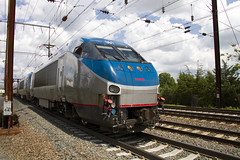 Amtrak Northeast Regional Train No. 95 with two HHP-8's (Camera-junkie) Tags: train canon photography traintracks tracks photojournalism trains amtrak transportation locomotive trainspotting locomotives nec njtransit digitalphotography bombardier northeastcorridor hhp8 jerseyavenue trainsphotography trainphotography trentonstation onlinephotography northeastregional canoneos7d amtraklocomotive