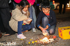 Shree Swaminarayan Mandir - Dharma Bhakti Manor - Holi 2014 (Dharma Bhakti Manor) Tags: colour london festival temple fire atmosphere powder bonfire experience spiritual bliss manor hindu dharma holi throwing mandir 2014 bhuj stanmore swaminarayan bhakti dahan prahlad holika sampradaya dharmabhaktimanor