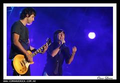 2009-02-11 - Babasonicos - Fiesta de la Manzana - Foto de Oscar Livera