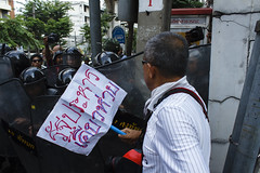 20140524-anti coup day 2-36 (Sora_Wong69) Tags: thailand bangkok military protest soldiers anti activist politic coupdetat martiallaw