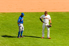 It aint all war out there (phoca2004) Tags: sanfrancisco california unitedstates sfgiants mlb nymets attpark michaelmorse