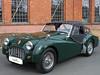 Triumph TR3 1956 Verdeck