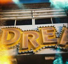 #dreamland.01 (Scopello4) Tags: signs 120 lomo lomography diana analogue dreamland margate flaring