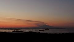 etna e Targia (SR) (sirbrio74) Tags: tramonto navi etna siracusa vulcano poto targia