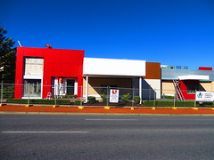 KFC - Modbury Facelift (RS 1990) Tags: building triangle july kfc adelaide renovation thursday southaustralia 3rd 2014 facelift modbury teatreegully modernising northeastrd